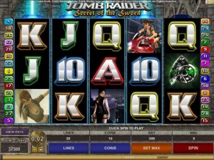 Tomb Raider 2 Online Pokies