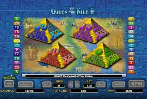 Queen of the Nile feature