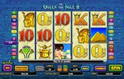 Queen of the Nile 2 Online Pokie